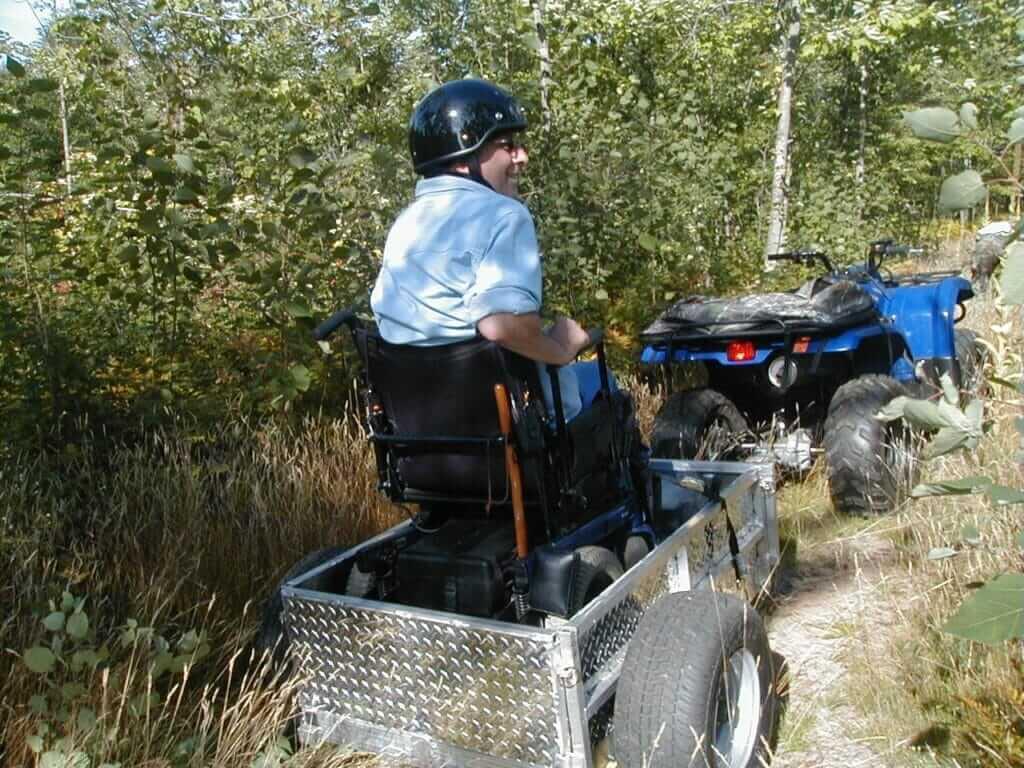 045 ATV OFF ROAD WHEEL CHAIR TRAILER 1